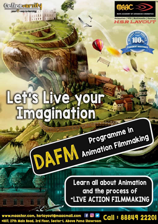 MAAC Animation & VFX Institute - HSR Layout - Bangalore